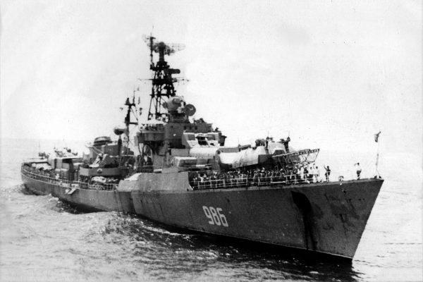 Jeden z niszczycieli projektu 57bis