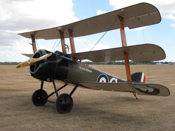Replika Sopwith Triplane (fot. thevintageaviator.co.nz)