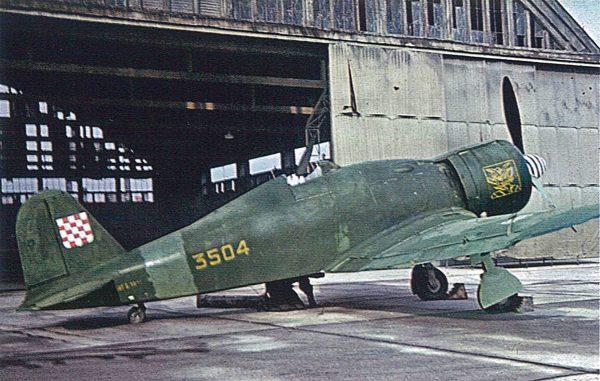 Chorwacki Fiat G.50 Freccia