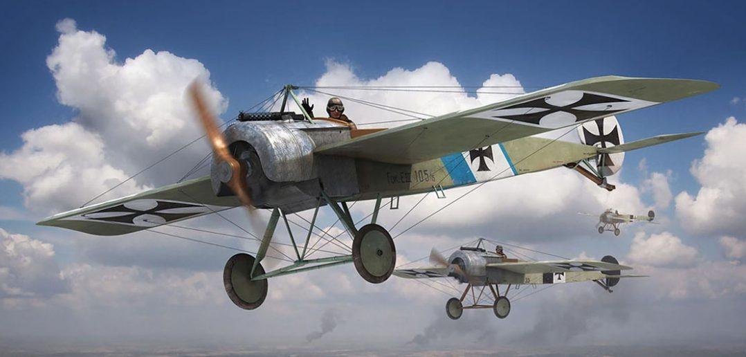 Fokker Eindecker - legendarny jednopłatowy myśliwiec z I wojny światowej