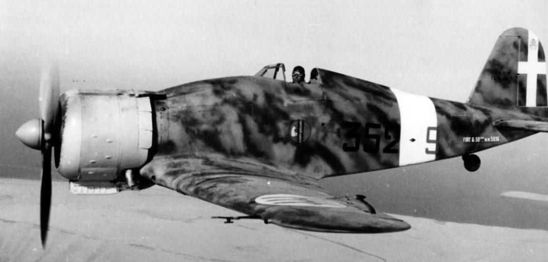Fiat G.50 Freccia - pierwszy nowoczesny myśliwiec Regia Aeronautica