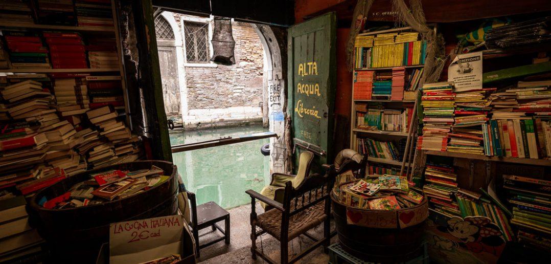 Libreria Acqua Alta - najpiękniejsza księgarnia na świecie?