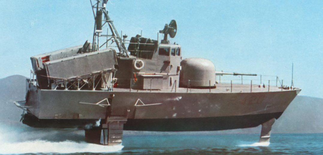 Włoskie kutry rakietowe i wodoloty typu Sparviero