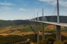 Wiadukt Millau - najwyższy wiadukt drogowy w Europie