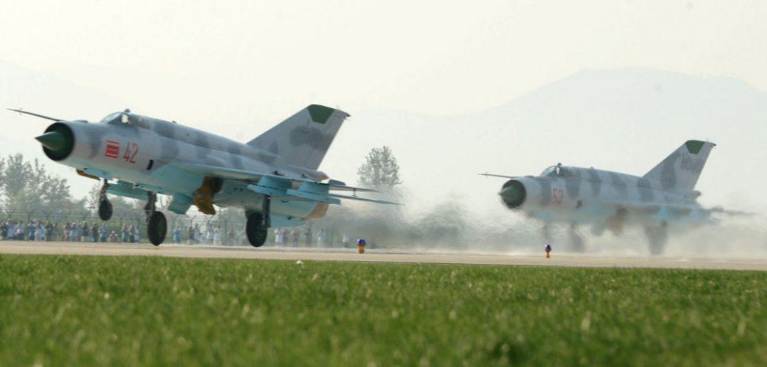Wonsan Airshow 2016 - pokazy lotnicze w Korei Północnej