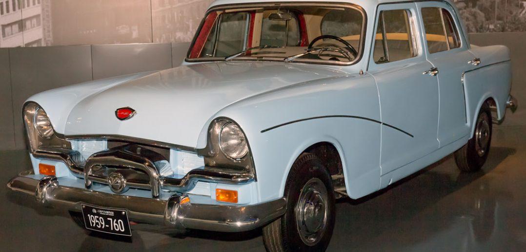 Szanghaj SH760 - chiński samochód dla elit