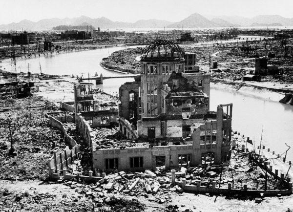 Ruiny hali po ataku atomowym