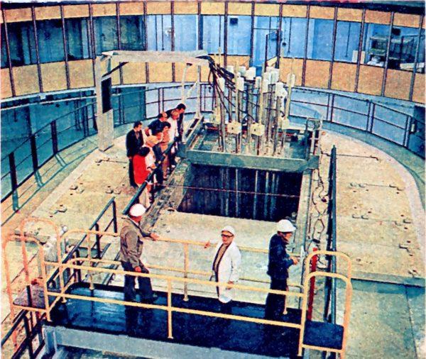 Reaktor Maria podczas budowy