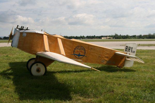 Replika Avia BH-1 (fot. Witold Łożyński/Wlkp_Spotters)