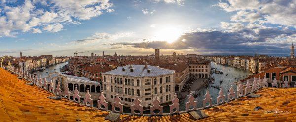 Panorama Wenecji z Fondaco dei Tedeschi (fot. Michał Banach)
