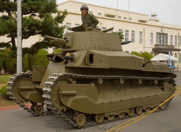 Type 89 I-Go odrestaurowany i przywrócony do pełnej sprawności (fot. Wikimedia Commons)
