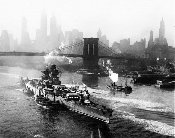Richelieu w Nowym Jorku w 1943 roku
