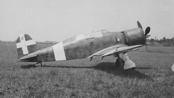 Szkolny Fiat G.50B Freccia