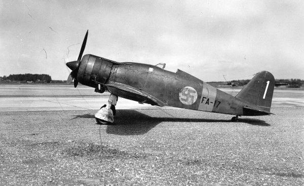 Fiński Fiat G.50 Freccia