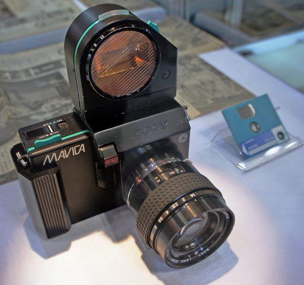 Prototyp Sony MAVICA z 1981 roku (fot. Wikimedia Commons)