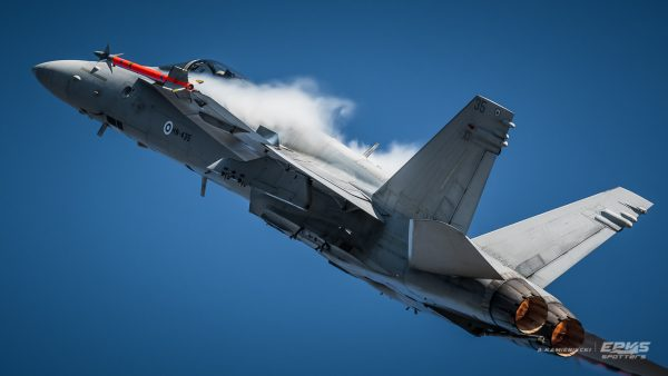 F/A-18 (fot. Arkadiusz Kamieniecki)
