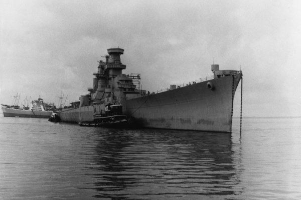 Nieukończony USS Hawii