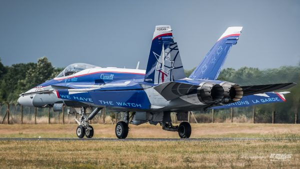 C/F-18 (fot. Arkadiusz Kamieniecki)