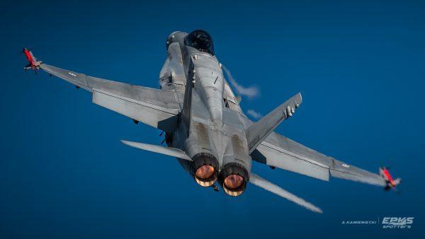 F/A-18 Hornet (fot. Arkadiusz Kamieniecki)