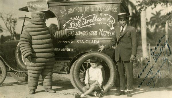 Bibendum na początku XX wieku