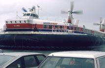 Poduszkowce pasażerskie SR.N4 typu Mountbatten