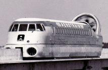 Aérotrain - pociąg i poduszkowiec w jednym