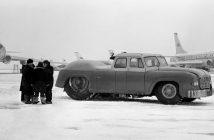 MAZ-541 - pierwszy radziecki specjalistyczny ciągnik samolotowy