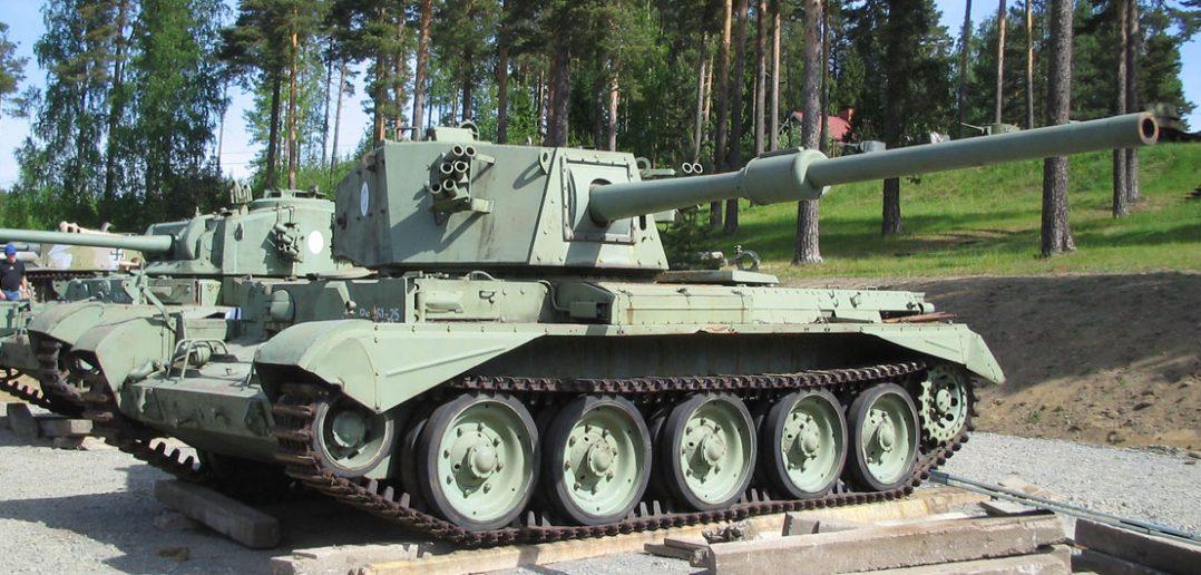FV4101 Charioteer - czołg i niszczyciel czołgów w jednym