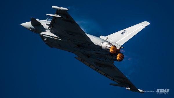 Eurofighter Typhoon (fot. Arkadiusz Kamieniecki)