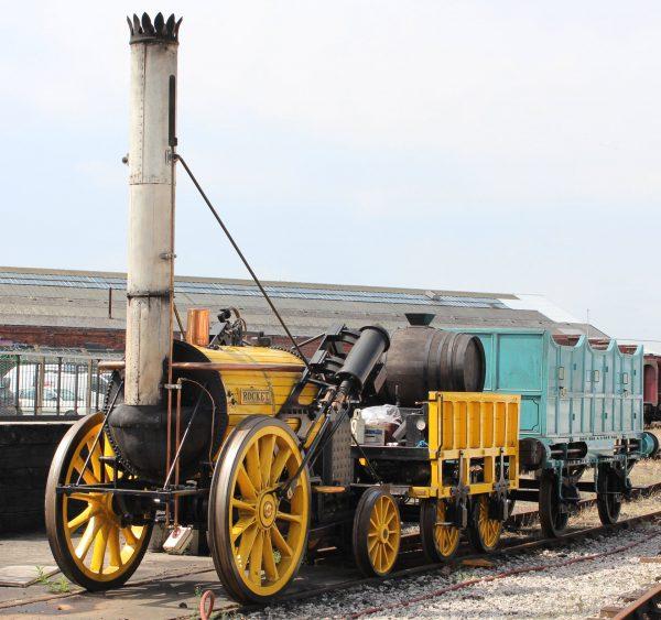 Replika parowozu Rocket współcześnie (fot. american-rails.com)