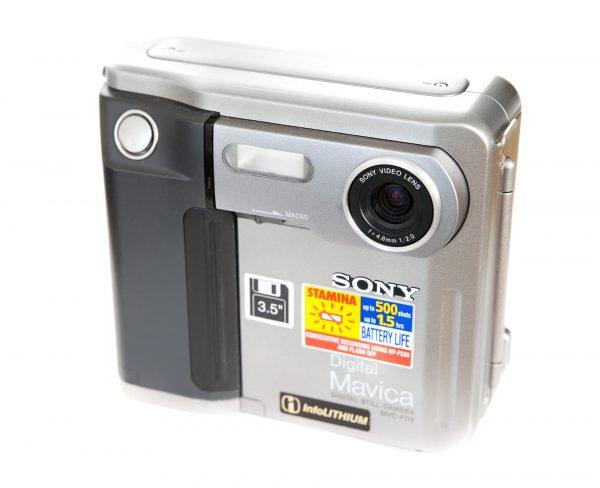 Sony Digital Mavica MVC-FD5 (fot. Wikimedia Commons)