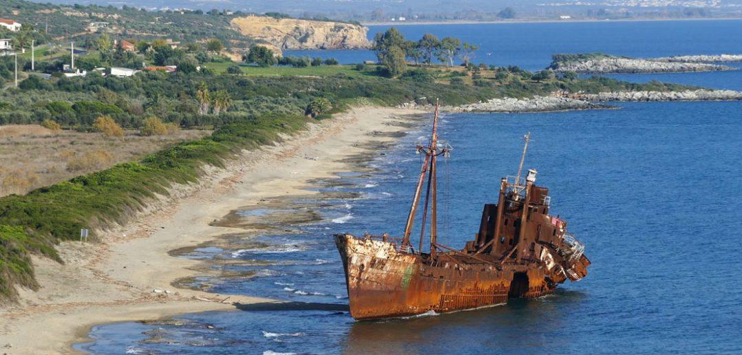 Wrak statku Dimitrios