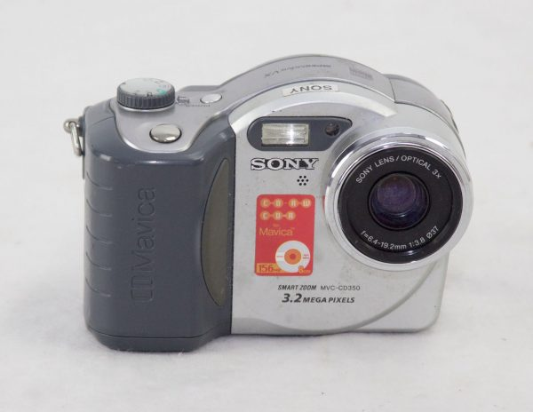 Sony CD Mavica MVC-CD350 (fot. techidaily.com)