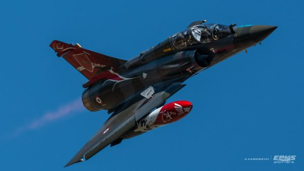 Dassault Mirage 2000 (fot. Arkadiusz Kamieniecki)
