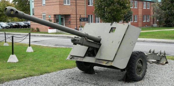 Brytyjska armata przeciwpancerna 17pdr kalibru 76,2 mm
