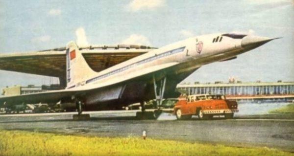MAZ-541 i Tu-144
