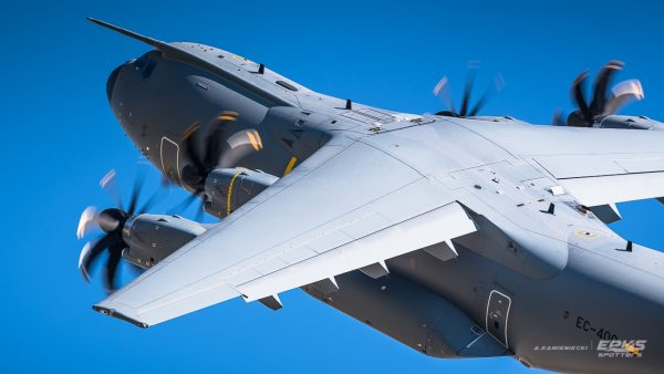 Airbus A400M (fot. Arkadiusz Kamieniecki)