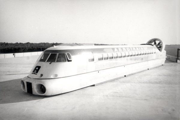 Aérotrain I80 (fot. aerotrain.fr)
