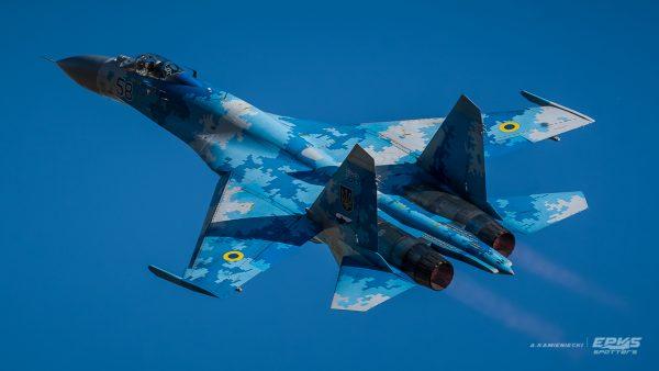 Su-27 (fot. Arkadiusz Kamieniecki)
