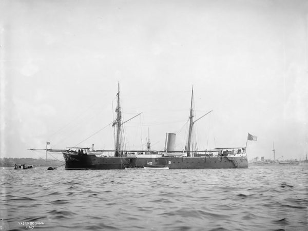 Vasco da Gama w pierwotnej konfiguracji