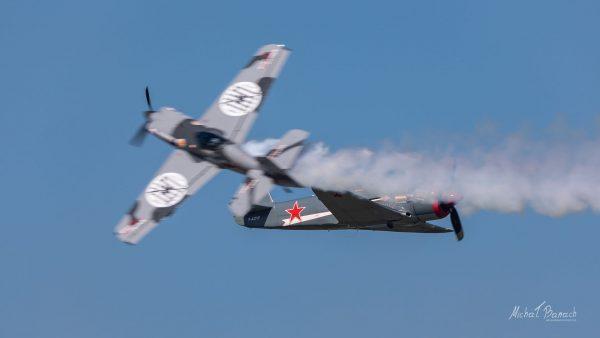 XtremeAir XA 41 i Yak-3U PW R2000 (fot. Michał Banach)