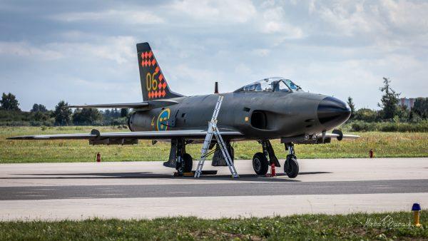 Saab 32 Lansen (fot. Michał Banach)