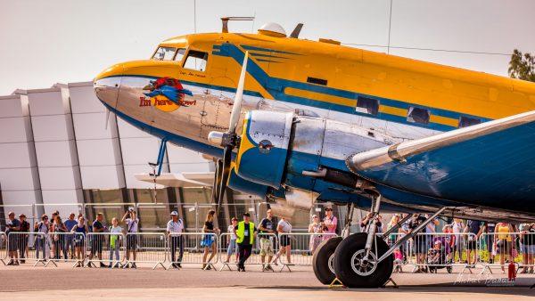 Douglas DC-3C (fot. Michał Banach)