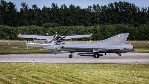 Saab J35 Draken (fot. Michał Banach)