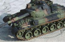 Szwajcarskie czołgi Panzer 58, 61 i 68
