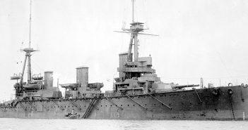 HMAS Australia - jedyny okręt liniowy Australii