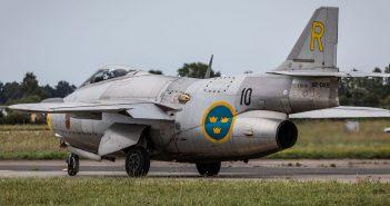 Saab J29 Tunnan - latająca beczka