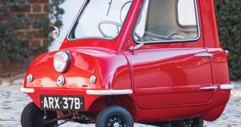 Peel P50 - najmniejszy samochód osobowy