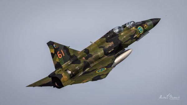 Saab AJS37 Viggen (fot. Michał Banach)