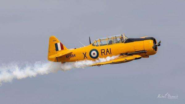 North American AT-16 Harvard IIB (KF584) (fot. Michał Banach)